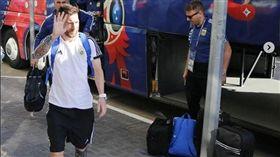 梅西正式揮別俄羅斯。(圖/阿根廷足協IG)