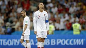 ▲C羅的世界盃也走上回家之路。(圖/美聯社/達志影像)
