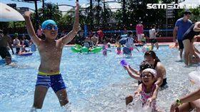 夏天,玩水,暑假,台北親水節,2018新月水道節,自來水園區,大佳河濱公園