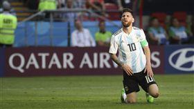 阿根廷球星梅西。(圖/美聯社/達志影像)