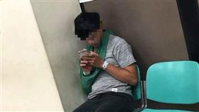屁孩撞死重機騎士(圖/翻攝自台灣新聞記者聯盟資訊平台)