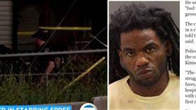 美國愛達荷州驚傳一起殺人事件,一名30歲男子金納(Timmy Kinner)疑不滿社區住戶將他趕走,憤而持刀闖入朝幼童亂砍、亂刺,造成6名孩童、3名大人受傷。目前警方依加重傷害罪、傷害兒童罪名將金納起訴。(圖/翻攝自KABC-TV、CBS News)