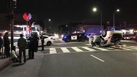 警察撞死人!趕處理家暴案闖紅燈 撞綠燈轉彎車駕駛亡(圖/翻攝自Pixabay)