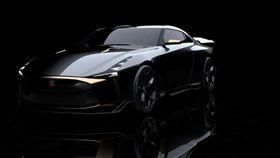 GT-R50 by Italdesign。(圖/翻攝Nissan網站)
