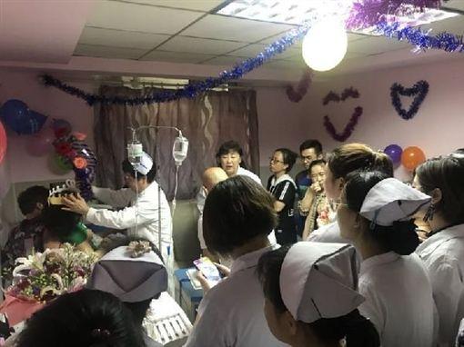 大陸,哈爾濱,實習,護理師,胃癌,癌症,眼角膜,捐贈http://cn.chinadaily.com.cn/2018-06/25/content_36450410.htm
