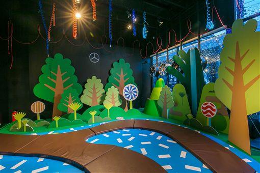 Mercedes-Benz「星奇怪獸夏令營」。(圖/Mercedes-Benz提供)