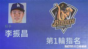中華職棒2018年度選手選拔會,李振昌。 (圖/記者林敬旻攝)