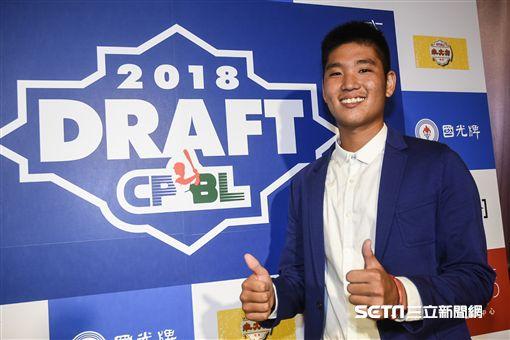 中華職棒2018年度選手選拔會,古林睿煬。 (圖/記者林敬旻攝)
