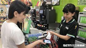 信用卡,電子支付。(圖/全家提供)