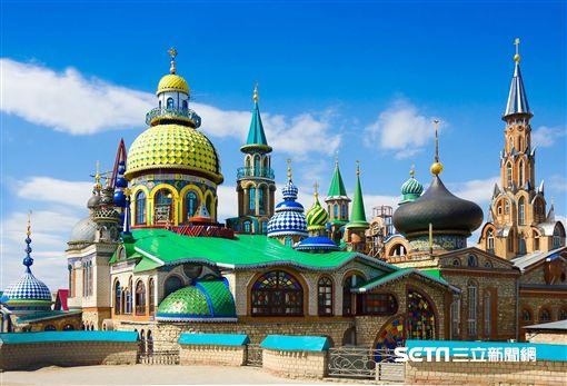 俄羅斯旅遊,喀山,Kazan,各種宗教寺廟。(圖/Hotels.com提供)