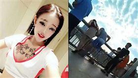 賣淫養毒蟲男友…17歲少女遭劈腿跳橋亡!閨密下跪求救 翻攝微博