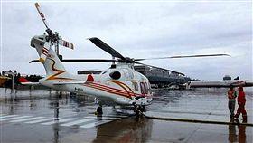 澎湖緊急醫療後送直升機7月底進駐(3)凌天航空公司採購全新阿古斯特AW169直升機作為澎湖離島緊急醫療後送直升機,預計7月27日進駐澎湖,正式展開緊急後送任務。(澎湖縣衛生局提供)中央社 107年7月2日