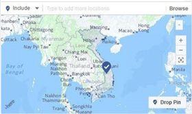 西沙、南沙列屬「中國」版圖?越南政府抗議 臉書移除標示 (圖擷自vnexpress)