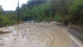 台南,台20線,51.6公里,土石坍方,交管,搶修,恢復通車(圖/翻攝畫面)