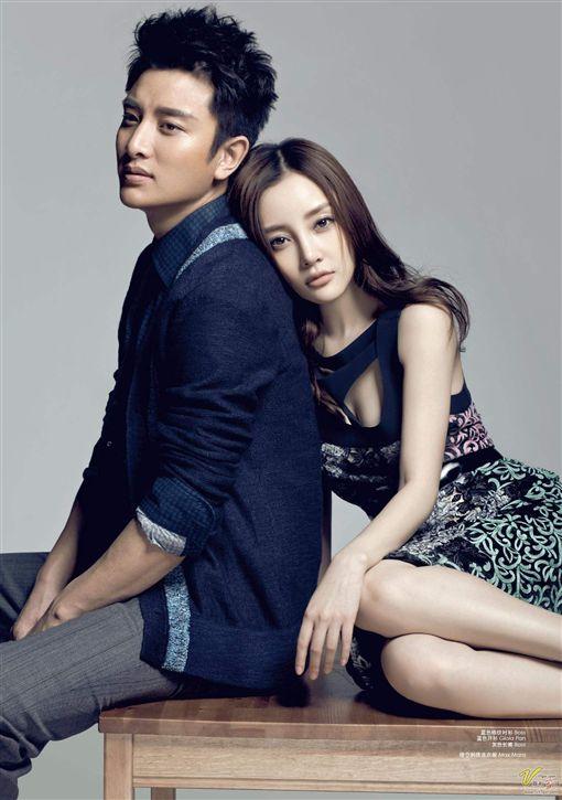 李小璐與老公賈乃亮。(翻攝微博)