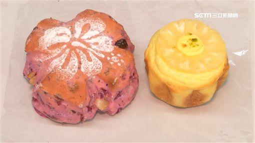 甜點,火龍果,鳳梨,司康,水果