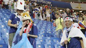 世足,日本,比利時,世界盃,16強,運動家精神 圖/美聯社/達智影像