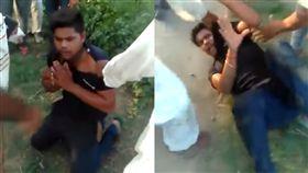 男路邊性侵6歲女童 民眾發現後動手圍毆他(圖/翻攝自臉書)