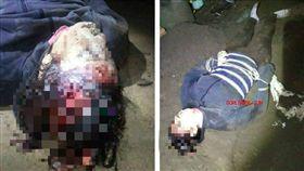 巴西南大河州一名12歲少女因不滿母親不接受男友,憤而與男友聯手拿錘子殺了母親,更誇張的是,他們完事後竟把屍體藏在家中後院。警方獲報後,成功逮捕這對情侶,目前兩人已被拘留,恐被以謀殺、隱匿屍體等罪名起訴。(圖/翻攝自GORE BRASIL)