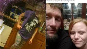 美國印第安那州一名39歲男子蘇耶(Russell Shuey)與女友雪頓(Sabrina Shelton)啪啪啪時,他身上的9mm手槍突然掉出走火,當場射死雪頓。目前蘇耶被控二級謀殺罪、一級過失殺人、非法使用槍枝與擁有武器等罪,恐面臨無期徒刑。(圖/翻攝自metro.co.uk)