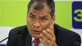 厄瓜多法前總統柯利亞(Rafael Correa)(圖/路透社/達志影像)