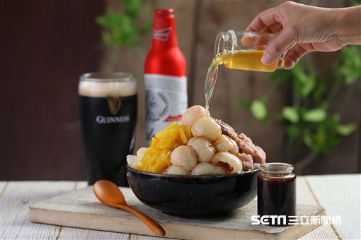 啤酒愛刨冰,冰沙雞尾酒。(圖/Asia 49亞洲料理及酒廊提供)
