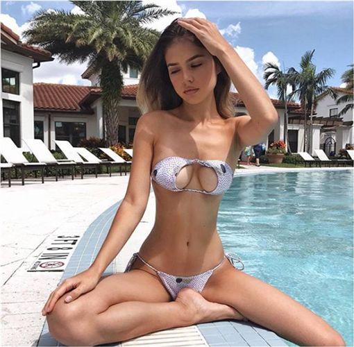 Upside Down bikini,澳洲,比基尼,泳裝 圖/翻攝自IG