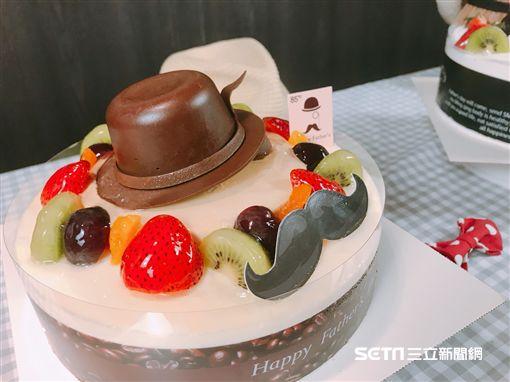 85度C蛋糕,父親節蛋糕。(圖/記者馮珮汶攝)