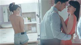 「台大五姬」陳匡怡脫了 昔日玉女裸背、大腿任人摸(圖/翻攝自YouTube)