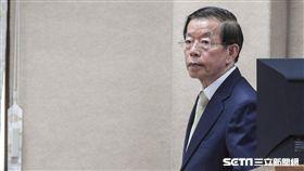 駐日代表謝長廷前往國防及外交委員會報告並備詢。 圖/記者林敬旻攝