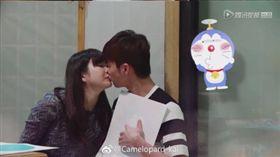 江宏傑、福原愛。(翻攝微博)