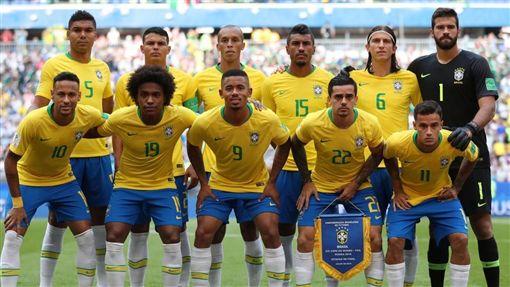 圖/翻攝自巴西隊推特