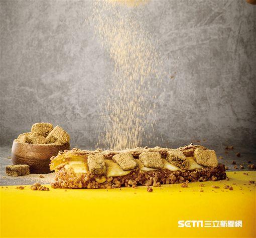 黑糖蕨餅棒棒泡芙,ZAKUZAKU。(圖/杰立餐飲提供)