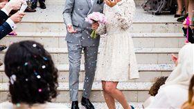 結婚、婚禮、婚紗、婚約、新娘、新郎,圖/翻攝自Pixabay