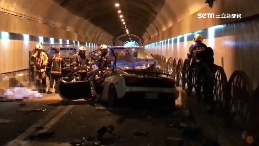 超跑自強隧道撞工程車 女乘客送醫不治