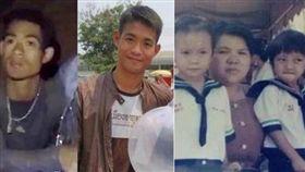 泰國足球隊受困洞穴,一名大陸女網友稱25歲教練艾格彭(Ekkapon Chantawongse)是她同父異母、失散多年的弟弟。(合成圖/翻攝自《泰國投條新聞》)