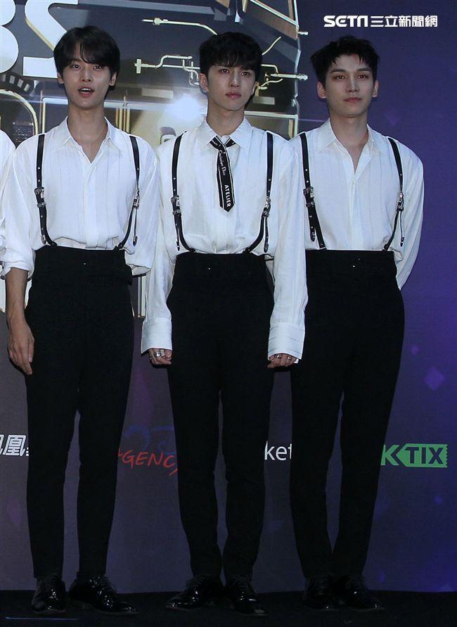 韓國男神級概念偶像VIXX。(記者邱榮吉/攝影)