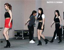 韓國完顏實力女團Red Velet。(記者邱榮吉/攝影)