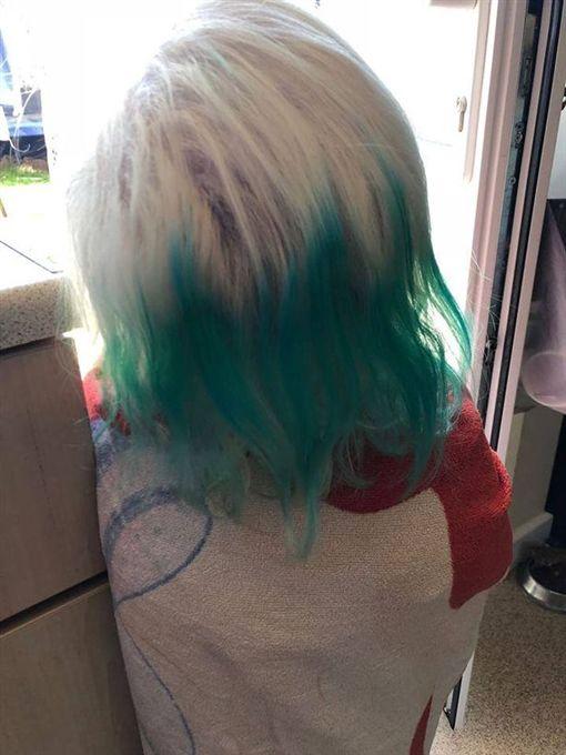 大陸,髮圈,英國,染色 圖/翻攝自《Daily Post》 ID-1435043