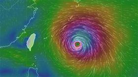 強颱瑪莉亞 圖/氣象局