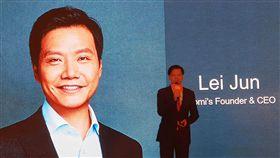 小米啟動香港IPO 雷軍擘劃未來小米啟動香港IPO,23日在香港舉行全球招股記者會,執行長雷軍擘劃未來。中央社記者江明晏攝 107年6月23日