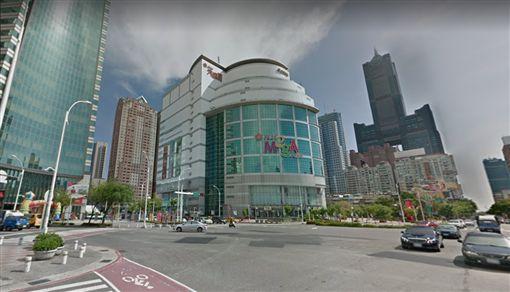 高雄三多商圈,圖/翻攝自Google Map