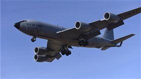 美空軍部署在關島的KC-135加油機。(取自美國空軍網站)