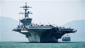 越戰後首次  美軍航空母艦訪越南美國海軍航空母艦卡爾文森號,抵達越南峴港。這是相隔40多年後,美國海軍航空母艦首度造訪越南。(取自美軍太平洋司令部官網)中央社記者曹宇帆洛杉磯傳真  107年3月6日
