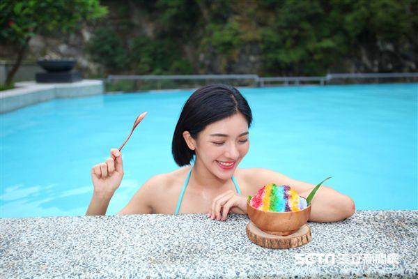 太魯閣晶英酒店,彩虹刨冰,野餐。(圖/記者簡佑庭攝)