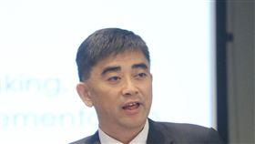 邱俊榮分享台灣行動生活經驗國家發展委員會副主委邱俊榮(圖)21日受邀赴新加坡舉行的全球行動通訊系統協會(GSMA)Mobile Connect 專題演講,同時分享台灣行動生活的經驗。中央社記者黃自強新加坡攝 106年11月21日