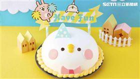 卡娜赫拉的小動物,P助冰淇淋蛋糕。(圖/COLD STONE提供)