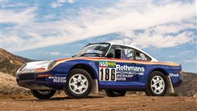 Porsche 959達卡拉力賽車。(圖/翻攝Rmsothebys網站)