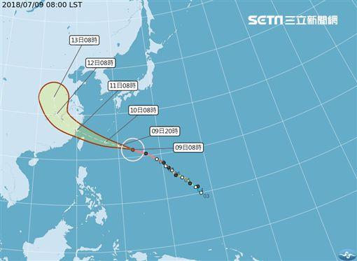 氣象局,瑪莉亞,颱風,林務局,山區,國家森林遊樂區