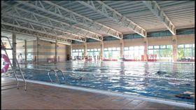彰化縣的彰南游泳池外觀(翻攝自Google Map)
